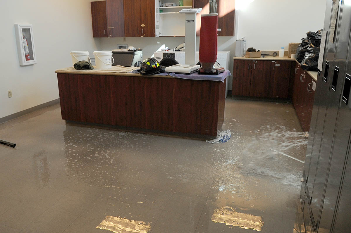 Flooded Rec Room